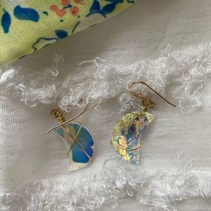 """ClearMoon"" Swarovski crystals erring"